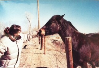 Me and Horse in pasture – Fort Collins, CO