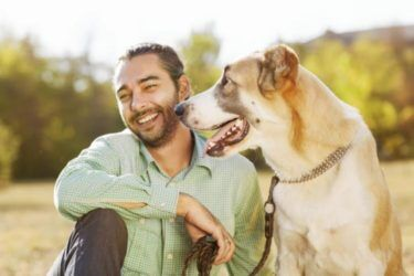 Beginning Animal Communication Classes - Man with dog